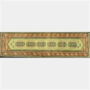 Persian Tabriz Wool Runner