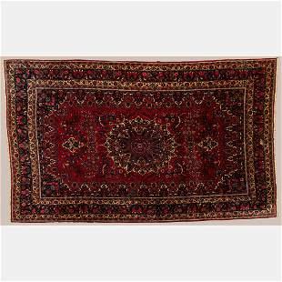 Persian Mashad Wool Rug