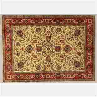 Fine Persian Tabriz Wool Rug