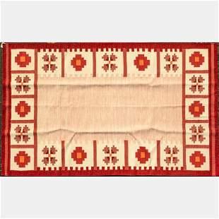 Indo Turkish Kazak Kilim Wool Rug