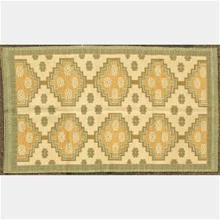 Hand Knotted Ino Caucasian Kazak Wool Rug