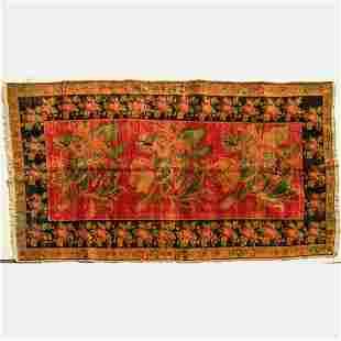 Antique Caucasian Kazak Wool Rug