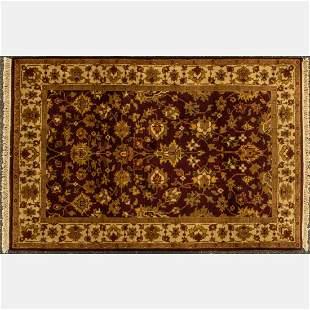 Indo Persian Tabriz Wool Rug
