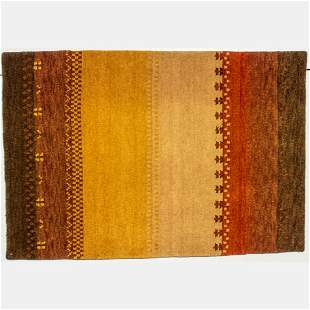 Indo Persian Gabbeh Wool Rug