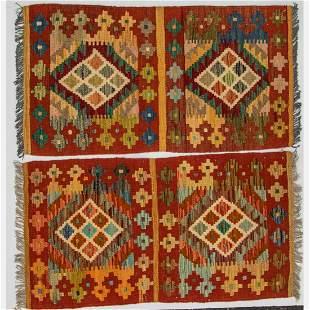 Turkish Caucasian Kazak Wool Rugs