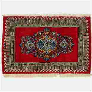 Persian Kashan Wool Rug