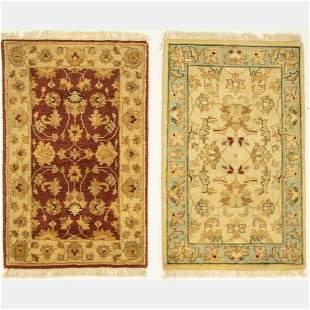 Two Indo Turkish Oushak Wool Rug