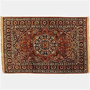 Indo Kashmir Silk Rug