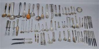 118: A Miscellaneous Collection of Sterling and Silver