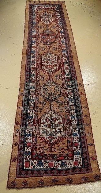 1: An Antique Persian Serab Wool Runner.