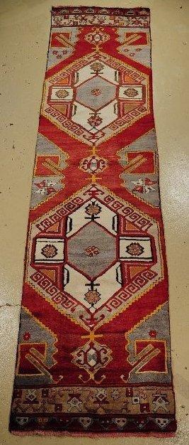 7: An Antique Turkish Wool Runner.