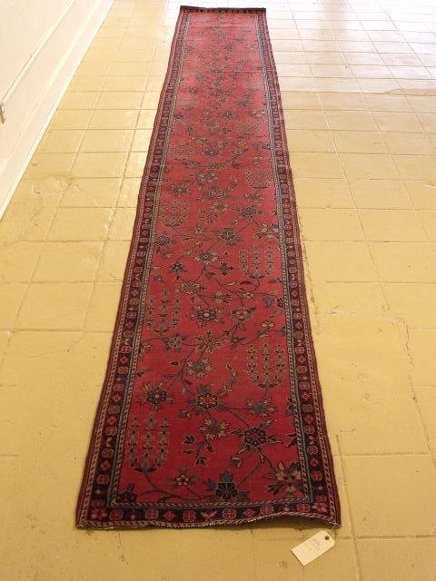 9: An Antique Turkish Wool Runner.