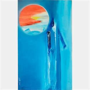 Al Bright (American, 1940-2019) Untitled, Oil on