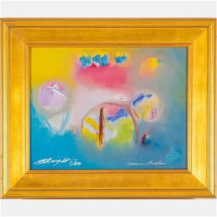 Al Bright (American, 1940-2019) Cosmic Realm, Color