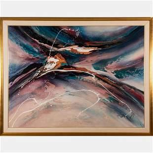 Roy Schallenberg (1945-2010) Untitled, Oil on canvas,