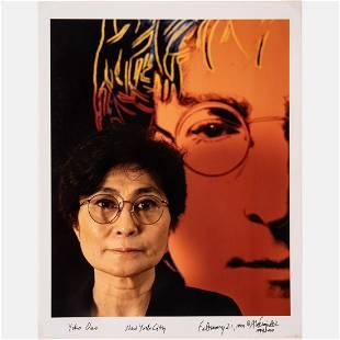 Abe Frajndlich (American, b.1946) Yoko Ono, New York