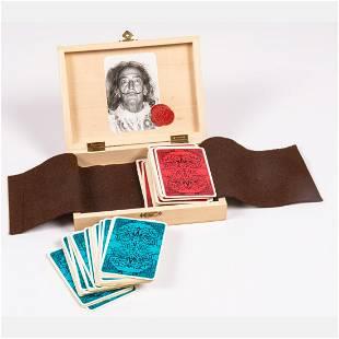 Vintage Salvador Dali Playing Cards, 20th Century