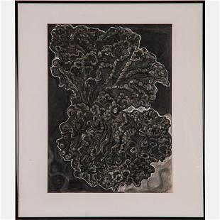 Sallie Kowalski (20th Century) Untitled, Pastel and