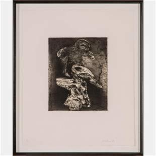 John Walker (British, b.1939) Untitled, Black and white