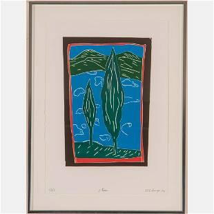 Italo Scanga (Italian/American, 1932 - 2001) Two Trees,