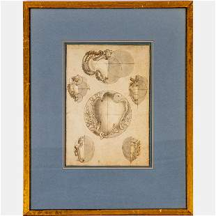 In the Style of Carlo Marchionni (1702-1786) Italian