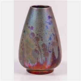 A Clement Massier (1844-1917) Vase,