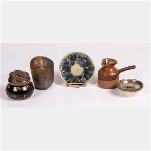 A Collection of Studio Pottery by Various Artists,