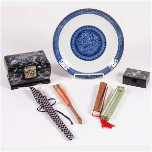 A Collection of Asian Decorative Items, 20th Century.
