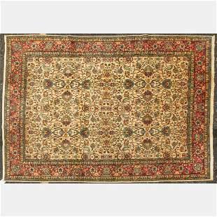 A Turkish Sivas Wool Rug, 20th Century.
