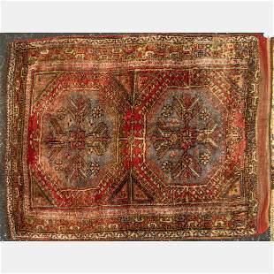 An Antique Caucasian Kazak Wool Rug, ca. 1930's.
