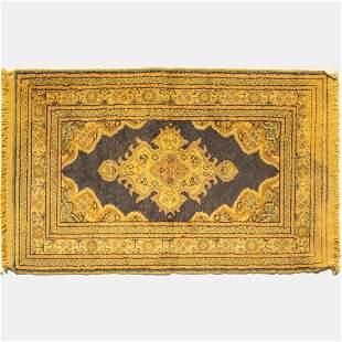 A Turkish Kayseri Wool Rug, 20th Century.