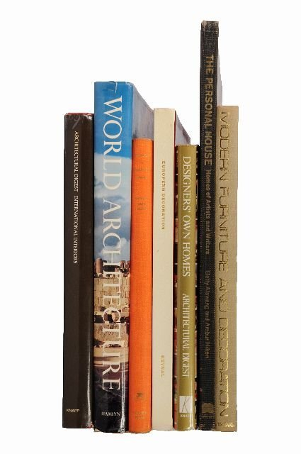 3: [ARCHITECTURE AND DESIGN]. A group of 7 volumes.