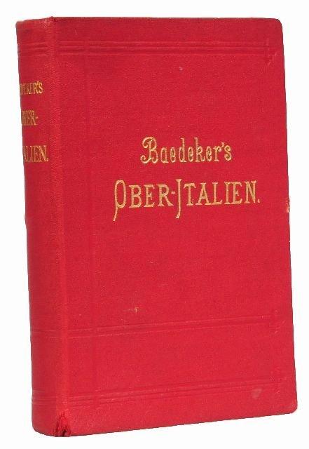 4: BAEDEKER, Karl, publishers. Ober-Italien.