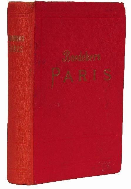 12: BAEDEKER, Karl, publishers. Paris und Umgebung