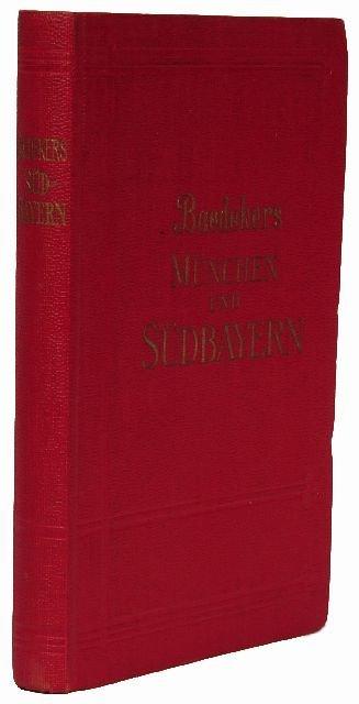 13: BAEDEKER, Karl, publishers. München und Südbayern.