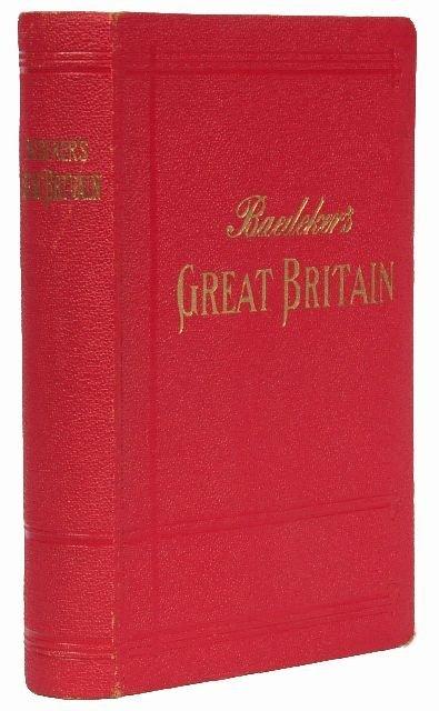 14: BAEDEKER, Karl, publishers. Great Britain.