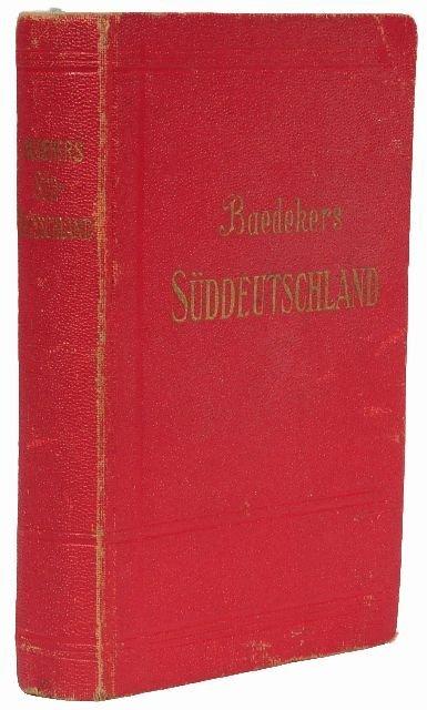 15: BAEDEKER, Karl, publishers. Süddeutschland.