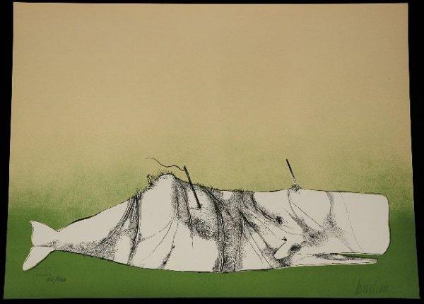 18: BASKIN, Leonard, illustrator (1922-2000). Moby Dick