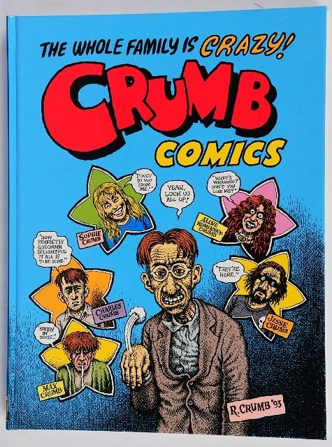 38: CRUMB, Robert (born 1943).  Two works by the Americ