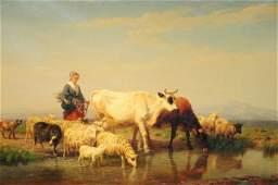 24: Edmond Jean-Baptiste Tschaggeny (Belgian, 1818-1873
