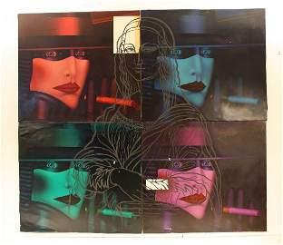 72: Shimon Okshteyn (b.1951) Mona Lisa, Painting and Se