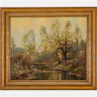 E. Paul Barnes (American, 19th Century) River