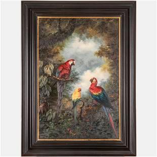 Artist Unknown (20th Century) Jungle Scene with