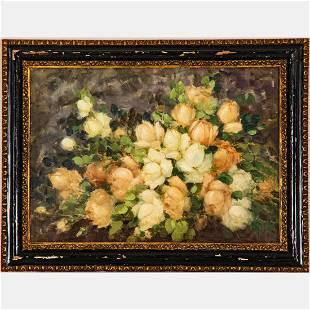 Giuseppe Alberto Cocco (Italian, 1879-1963) Floral