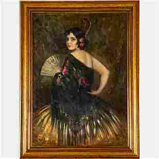 Ernesto Fontana (Italian, 1837-1918) Portrait of a
