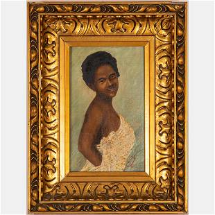 Gavro Ledinski (19th/20th Century) Portrait of a Lady,