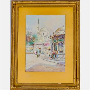 J. Pavlekevich (19/20th Century) Istanbul, 1925,