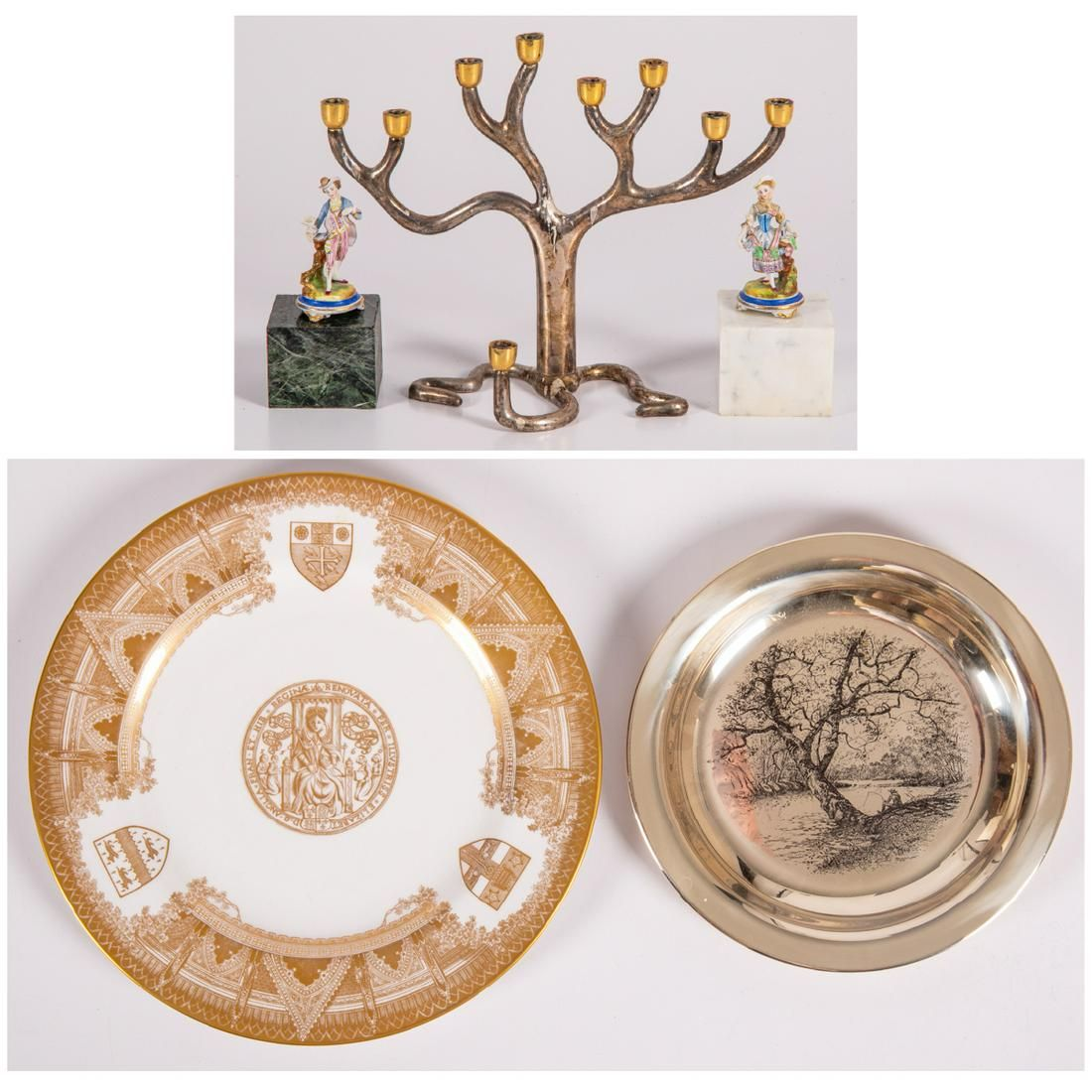 A Miscellaneous Collection of Decorative Items, 20th