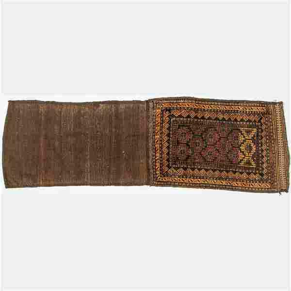 An Antique Persian Balouch Wool Rug, ca. 1910's.