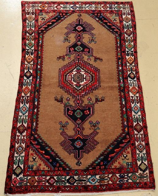 "A Persian Serab Wool Rug, 6' 7"" x 3' 8"""